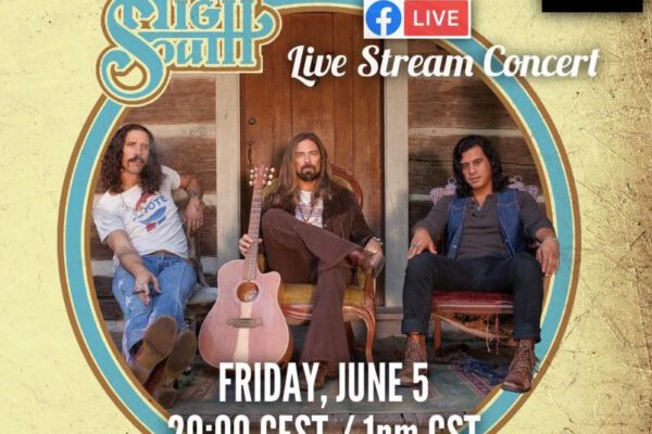High South live stream 5 juni om 20:00 uur